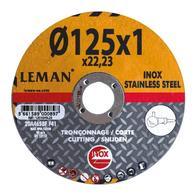 Disco de corte Inox Ø 125/Producto en Oferta